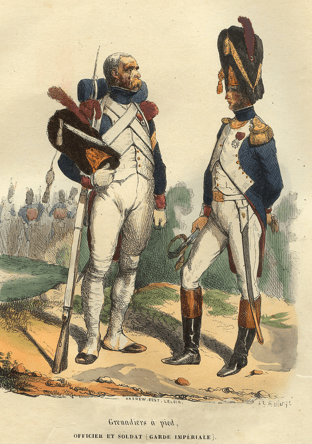 Grenadier à pied de la Garde
