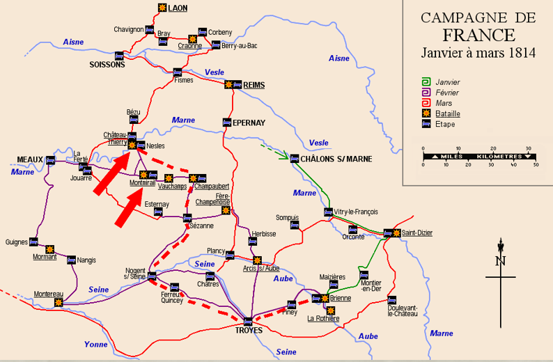 Bataille de Montirail