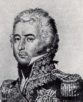 Le général Étienne-Marie-Antoine Champion, comte de Nansouty