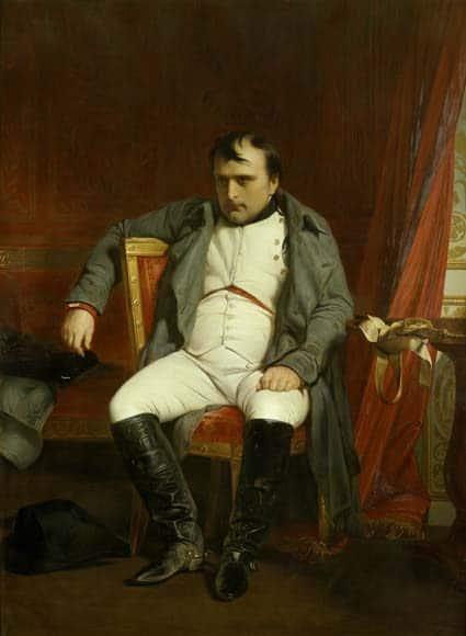 Napoléon à Fontainebleau - Delaroche