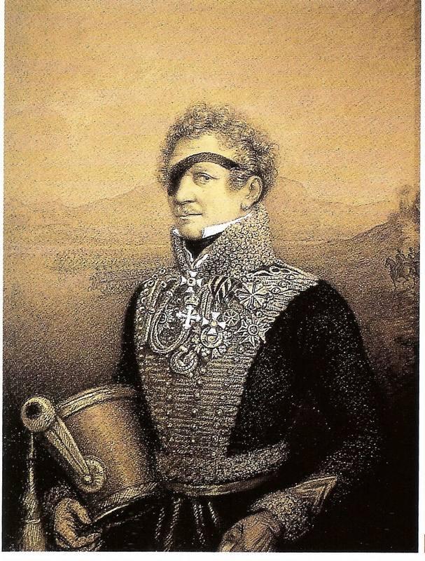 Le général Adam-Adalbert, comte de Neipperg