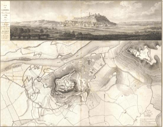 Plan de la ville de Lerida