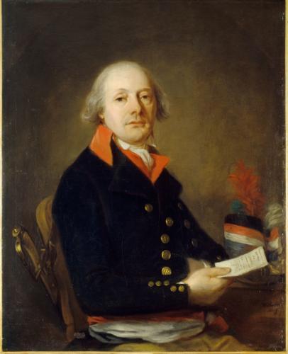 Portrait anonyme d'un commissaire des guerres (APN)Portrait anonyme d'un commissaire des guerres (APN)