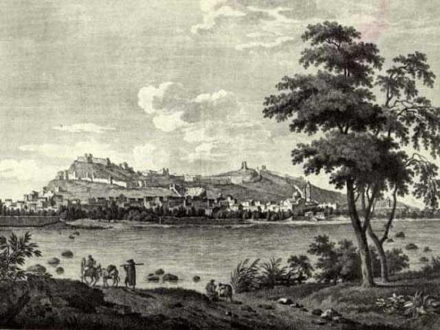 Vue de Sagonte en 1810