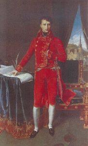 Le Premier consul Bonaparte