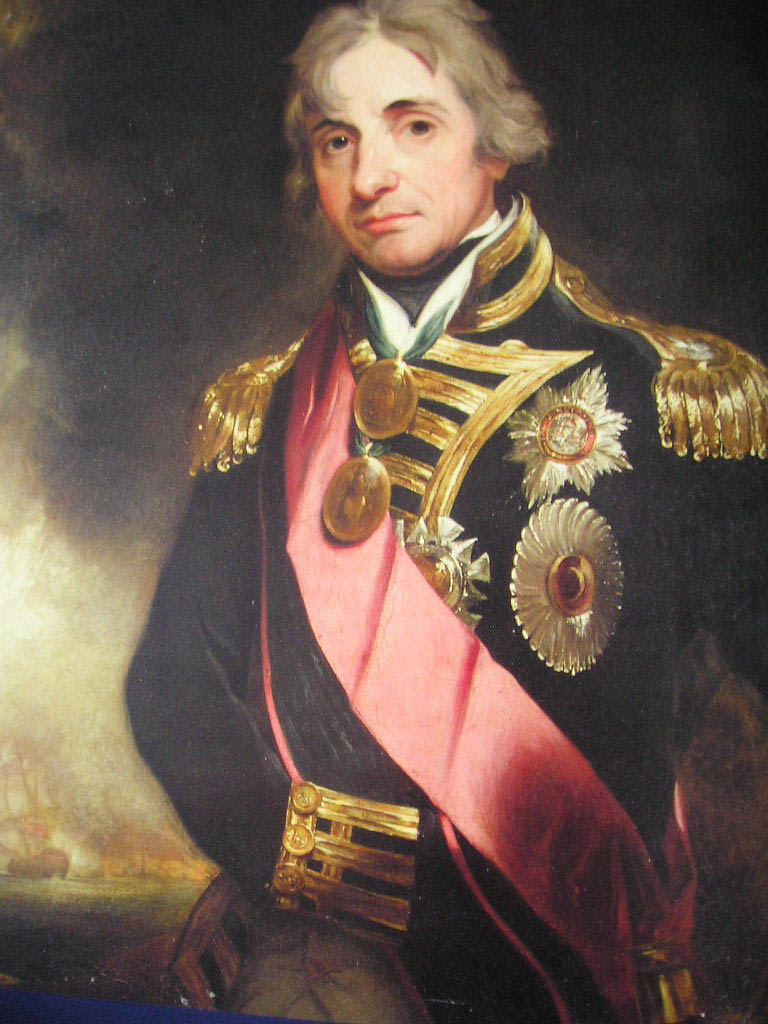 L'amiral Horatio Nelson