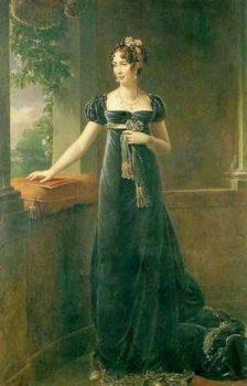 Auguste-Amalia de Bavière (Francois Gérard - ca 1815 - Château de Verssailles)