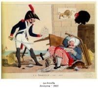 La brouille . Anonyme - 1803