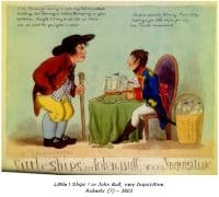 Little ! Ships ! or John Bull Inquisitive - Roberts (?) - 1803