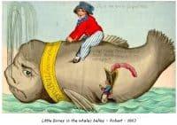 Little Boney in the Wales Belly - Robert - 1803