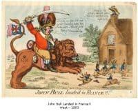 John Bull landed in France ! West - 1803