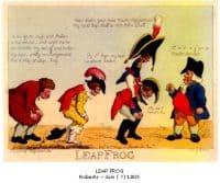 Leap Frog. Roberts - juin (?) 1803