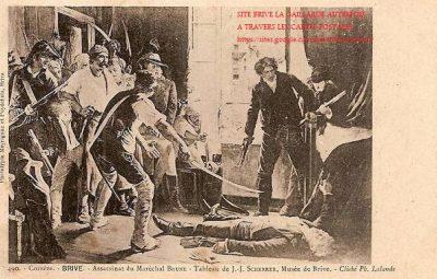 Assassinat du Maréchal Brune