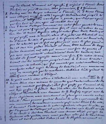 Facsimilé du Journal de Shubert