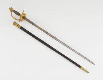 L'épée de Frédéric au MUsée de l'Armée