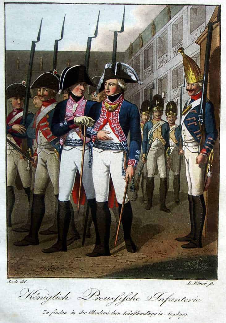 Infanterie prussienne (Knötel)