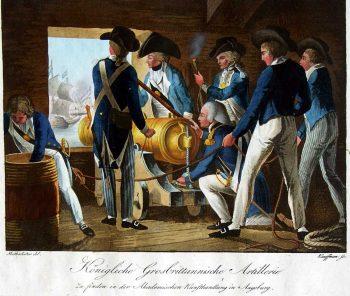 Artillerie anglaise (Knötel)
