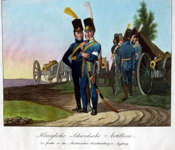 Artillerie suédoise (Knötel)