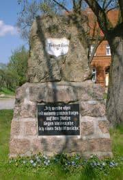 stèle en souvenir du général Tauentzein
