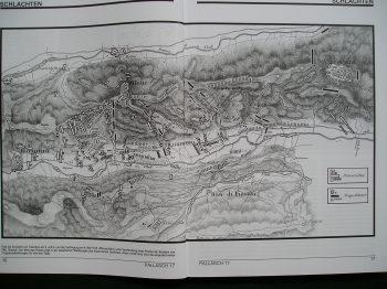 Carte de la bataille de Tolentino